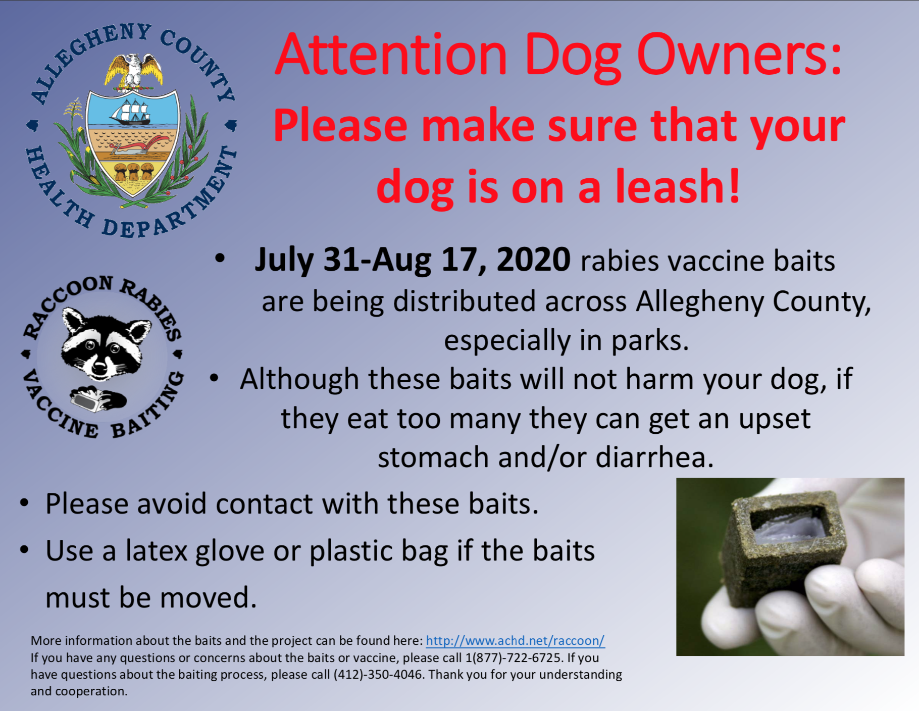 Protect your dogs!